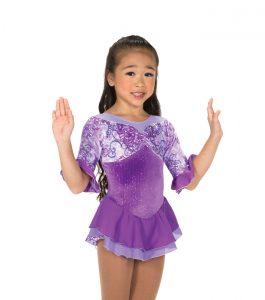 Jerrys 169 Passion Flower Skating Dress Purple Front