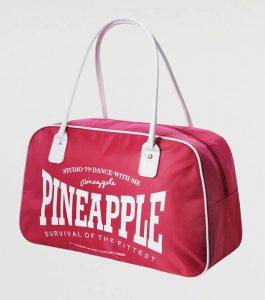 Pineapple Stretch Kit Bag Pink