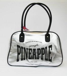 Pineapple Stretch Kit Bag Silver