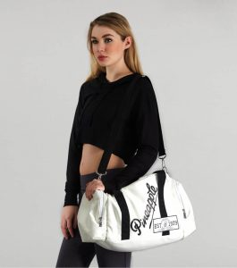 Pineapple White Covent Garden Dance Bag