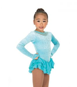 Jerrys 180 Frozen Princess Skating Dress Blue Front