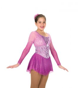 Jerrys 209 Ring of Asters Skating Dress Front