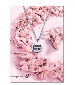 Dance Lover Necklace with Gift Card