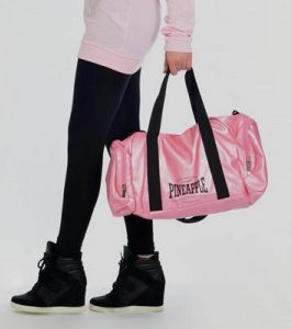 Pineapple Pink Stretch Dancers Bag