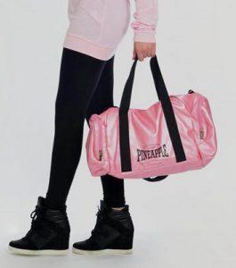 Pineapple Pink Stretch Dancers Bag