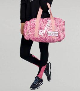 Pineapple Pink Zebra Dance Bag