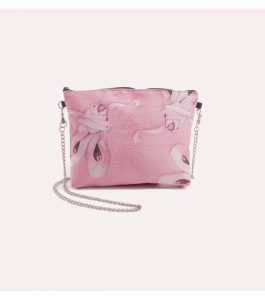 Small Pink Bag with Chain