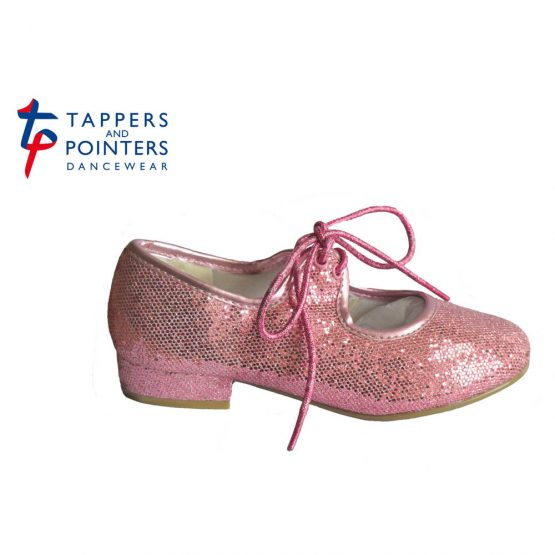 Tappers-and-Pointers-Pink-Glitter-Tap-Shoes