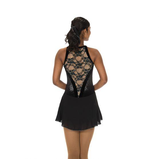 Jerrys 106 Lace Drop Skating Dress Black Back