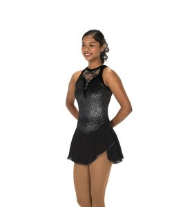 Jerrys 106 Lace Drop Skating Dress Black Front
