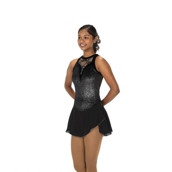 Jerrys 106 Lace Drop Skating Dress Black Front