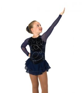Jerrys 15 In the Loop Skating Dress Navy Front
