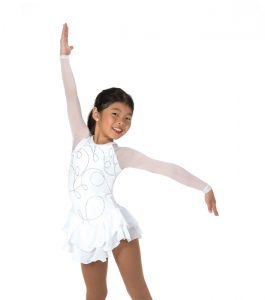 Jerrys 15 In the Loop Skating Dress White Front