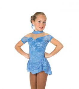 Jerrys 24 Lacy Belle Skating Dress Blue Front