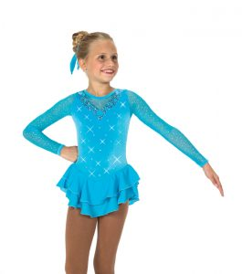 Jerrys 44 Crystal Waters Skating Dress Blue Front