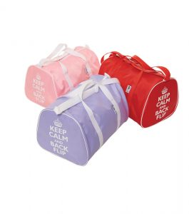 Gymnastic Holdalls with Keep Calm and Back flip Motif