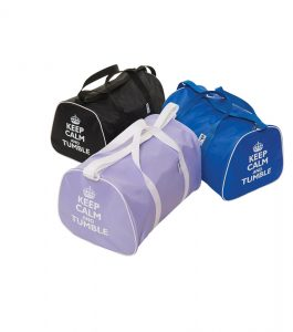Gymnastic Holdalls with Keep Calm and Tumble Motif