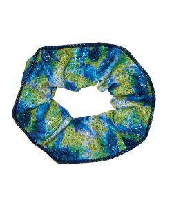 Coral Scrunchie