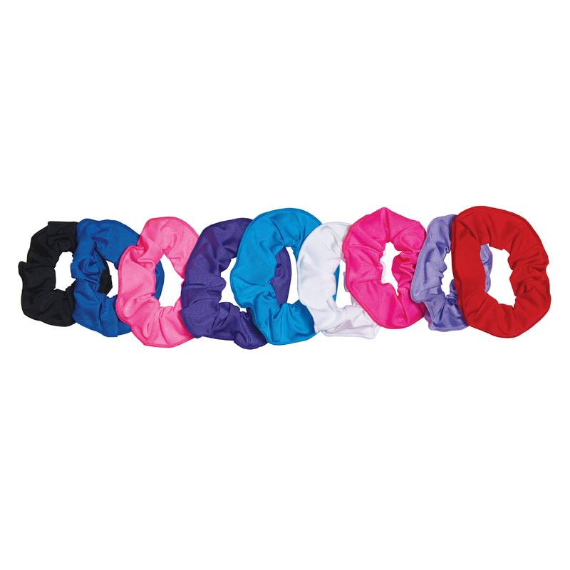 606700e16308 Nylon Lycra Scrunchies - Dancewear Universe