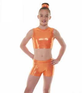 Tappers & Pointers Amber Crop Top and Shorts