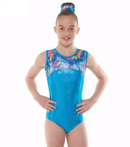 Tappers & Pointers GYM 48 Turquoise Gymnastic Leotard