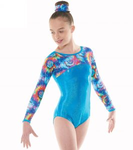 Tappers & Pointers GYM 49 Turquoise Gymnastic Leotard