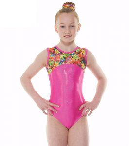 Tappers & Pointers GYM 50 Pink Gymnastic Leotard