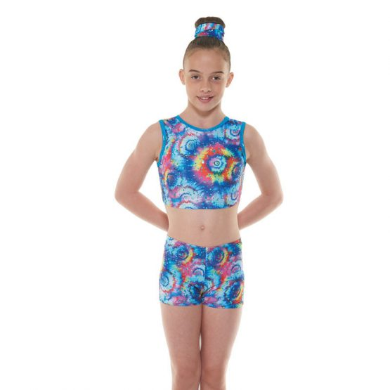 Tappers & Pointers Meteor Crop Top and Shorts