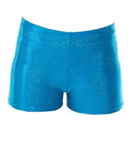 Tappers & Pointers Turquoise Micro Shorts