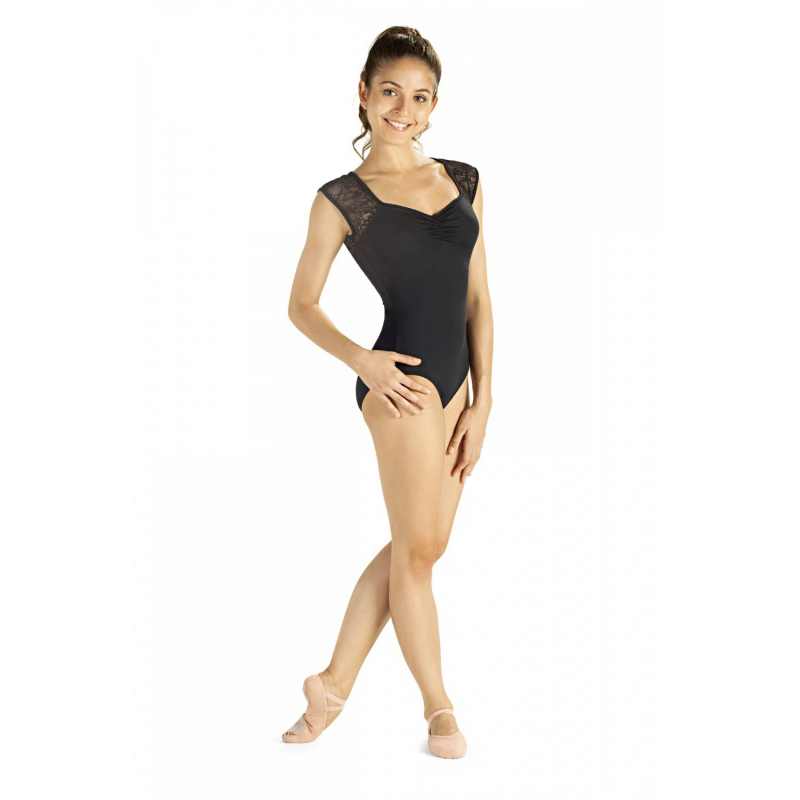 Lace Back Dance Leotard - Dancewear Universe 29ff401af