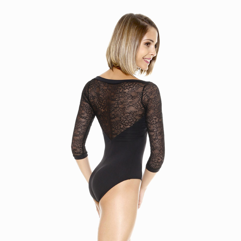 5298c30b73 Home   Products   Home Dancewear   Lace Sleeve Dance Leotard