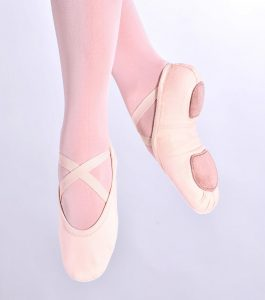 So Danca SD16 Stretch Split Sole Ballet Shoes pink