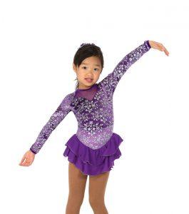 Purple Tripple Bow Dress