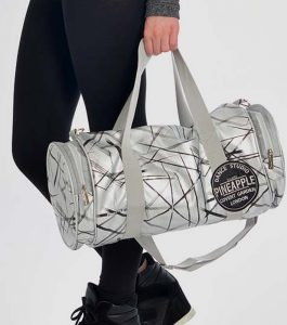 Pineapple Barrel Dance Bag Silver