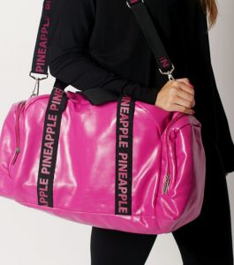 Pineapple Holdall Dance Bag Cerise