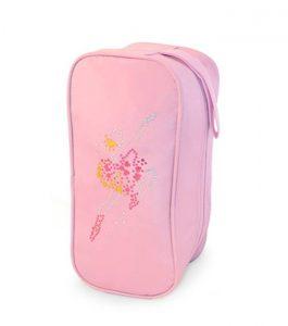 Pink Hologram Shoe Bag