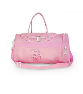 Pink Hologram Small Holdall