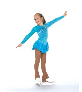 Jerrys Cerulean Blue Skating Dress 159