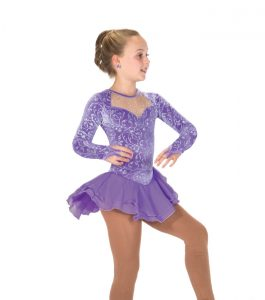 Jerrys Classique Soft Purple Skating Dress 188 Front