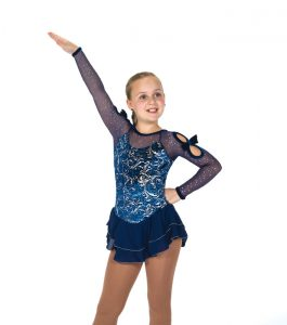 Jerrys Infinite Charm Navy Blue Skating Dress 166 Front