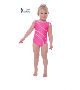 Lipstick Pink Leotard with Detail