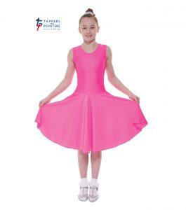 Standard Length Lipstick Sleeveless Ballroom Dress