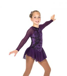 Jerry's 153 Diamond Chips Dress - Purple front