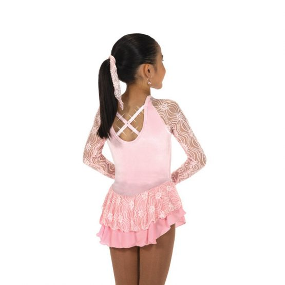 Jerry's152 Ribbon Lace Dress - Pink back