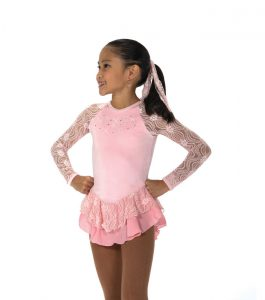 Jerry's152 Ribbon Lace Dress - Pink front