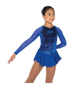 Jerry's153 Diamond Chip Dress - Royal Blue front