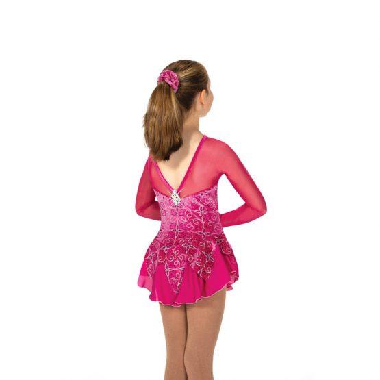 Jerry's 25 Dahlia Depths Dress back