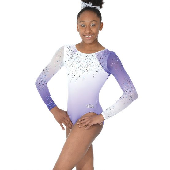 Diamond Long Sleeve Gymnastic Leotard