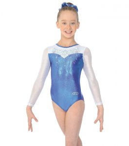 Mabelle Long Sleeve Gymnastic Leotard