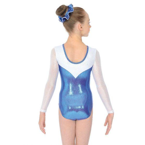 Mabelle Long Sleeve Gymnastic Leotard Back